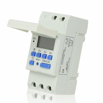 THC 15A 7 Day Digital LCD Weekly Programmable Timer AC 12V 24V 110V 220V Time Relay Switch