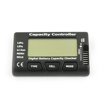 CellMeter 7 V2 With Balance Function Digital Battery Capacity Checker Voltage Meter