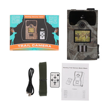 LW16C Waterproof 16MP 1080P 110 Degree FOV 940nm IR LED Infrared Wildlife Trail Trap Hunting Camera
