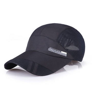 Unisex Breathable Quick Dry Mesh Outdoor Baseball Cap