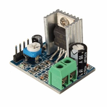 3Pcs TDA2030A 6-12V AC/DC Single Power Supply Audio Amplifier Board Module