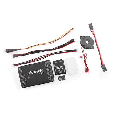 Pixhack 2.8.4 Controlador de Vuelo de 32 bits Basado en Piloto Automático Pixhawk para RC Drone FPV Racing Multi Rotor