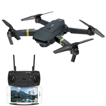 Eachine E58 WIFI FPV Met 2MP Wide Angle Camera High Hold Mode Opvouwbaar RC Drone Quadcopter RTF