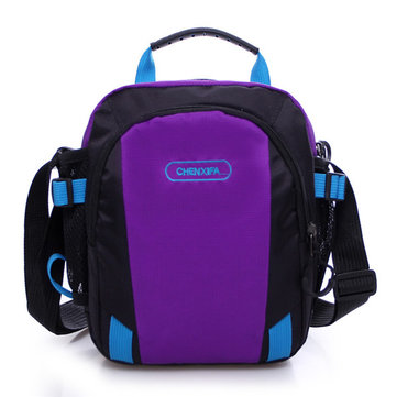 Women Men Nylon Sports Messenger Bags Light Waterproof Shoulder Bags Crossbody Bags