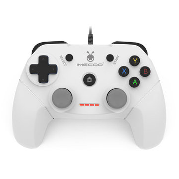 IMECOO EG-C3071 Wired Dual Vibration Gamepad for PS3 PC Smart TV Android Device