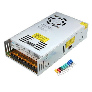 LCD 12V 30A 360W 110/220V Regulated Switch Power Supply Switching Power Supply Transformer
