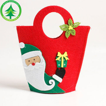 Christmas Gift Box Ramdom Beautifully Folded Colorful Christmas Box Christmas Stocking Ornaments
