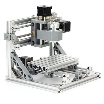 1610 3 Axis Mini DIY CNC Router Craving Wood Engraving Milling Desktop Engraver Machine 160x100x45mm