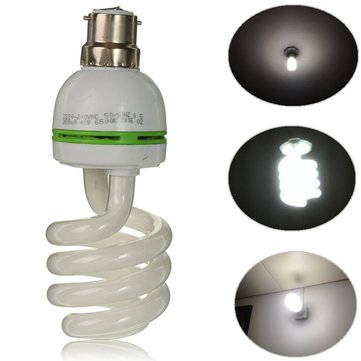 B22 40W White Color Energy Saving Spiral Bayonet Cap LED Light Lamp AC220-240V