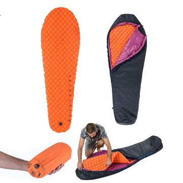 Naturehike Camping Sleeping Pad Air Egg Net Mat Moisture Proof Mattress For Mummy Sleeping Bag