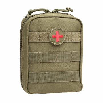 Honana HN-PB01 Tactical Medical Molle EMT Pouch Ifak First Aid Bag Outdoor Military Utility Pouches