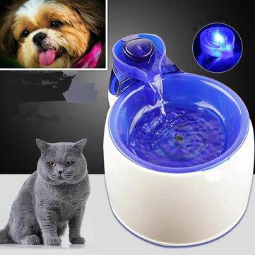 Fuente de agua eléctrica automática para mascotas de 3L Perro Gato Bebedero de alimentación en cascada para mascotas Bebida de agua para mascotas para Gato Dispensador de agua