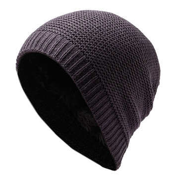 Winter Knitting Warm Adjustable Beanies Hat