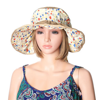 Women Ladies Summer Outdoor Beach Sun Protective Hat Driving Anti-UV Wide Brim Visor Caps