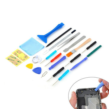 Bakeey™ 22 in 1 Multi-purpose Open Pry Sucker Screwdrivers Repair Tool Kits for iPhone Xiaomi
