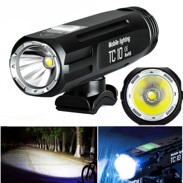 infun TC10 850LM IPX6 3400mAH Battery 85° Floodlight 4 Modes Intelligent Temperature Control Bike Fr
