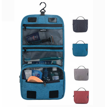 Naturehike Travel Waterproof Toiletry Wash Bag Hanging Make Up Cosmetic Pouch Storage Pack