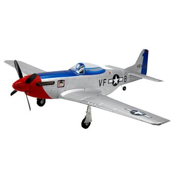 Dynam P-51D Mustang V2 Fred Glover 1200mm Wingspan EPO Warbird RC Airplane PNP