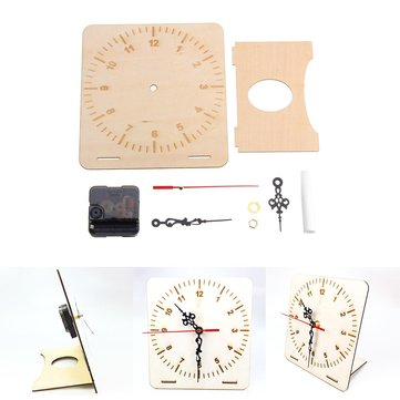 DIY Clock Primary School Technology Production Kit Manual Invention DIY Material Science Model
