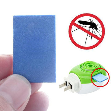 100 Pcs USB Anti Mosquito Repellent Tablets Household Safe Insect Killer Mosquito Dispeller Mat Collocation Heater Use No Toxic Insect Pest Control