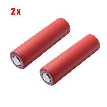2pcsサンヨーNCR18650GA3.6V3500mAh10A充電式リチウム電池