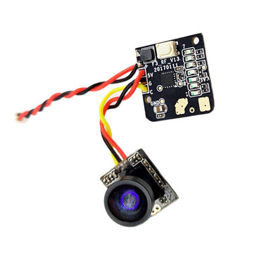 Turbowing 5.8G 48CH 25mw 700TVL Wide Angle FPV Transmitter Camera NTSC / PAL Combo voor FPV Multicopter