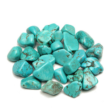 100g Blue Turquoise Mineral Specimen Body Healing DIY Design Fingdings