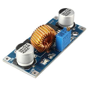 3Pcs XL4015 5A DC-DC paso abajo convertidor de Buckle de módulo de fuente de alimentación ajustable