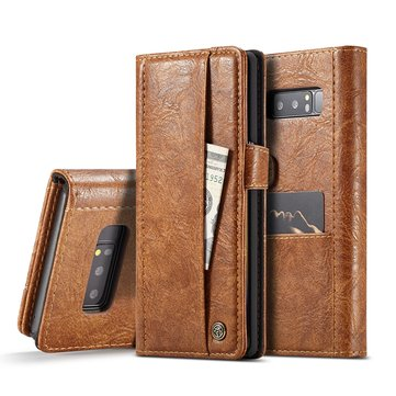 Caseme Vintage Wallet Card Slots PU Leather Case For Samsung Galaxy Note 8
