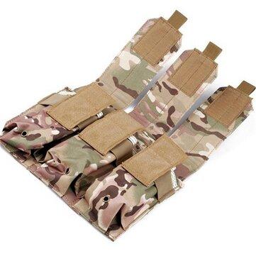 ความเชื่อ PRO กระเป๋าผ้าคลุมด้วยผ้าคลุมด้วยผ้า 3 ชั้นกระเป๋าใส่นามบัตร Mag Holder Accessory Bag