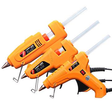 LOMVUM 30W/80W/100W/80-120W/150W High Temp Hot Melt Glue Gun Graft Repair Heat Gun Pneumatic DIY Tools