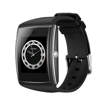 LG518 3D Surface IPS Heart Rate Detection Music Smart Watch Phone