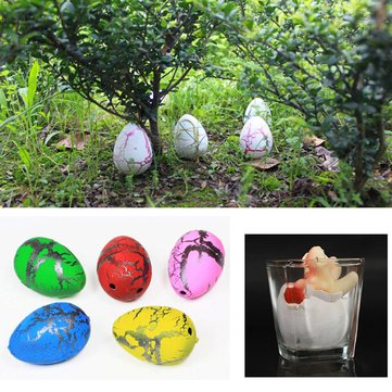 Medium Funny Magic Growing Hatching Dinosaur Eggs Christmas Child Gifts 4×3.5cm