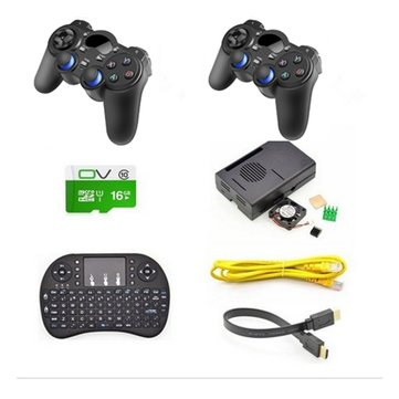 Game Console Wireless Controller Gamepad Kit For Raspberry Pi 3 Model B/RetroPie
