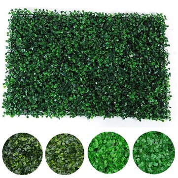 40x60cm Artificial Plant Wall Fence Vertical Garden Panel Decorations Foliage Hedge