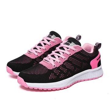 Sport Shoes Running Outdoor Casual Breathable Mesh Flats