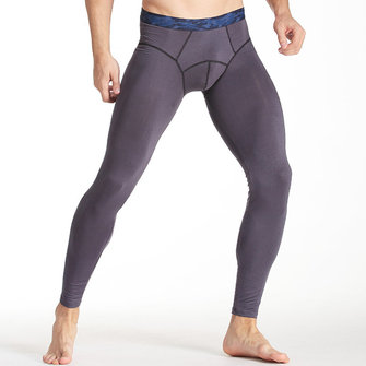 Tight Thermal Underwear U Convex Crotch Modal Soft Thin Long Johns for Men