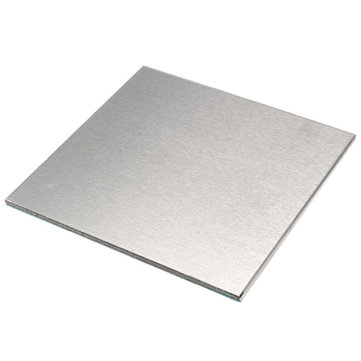 Buy 3*100*100mm Aluminum Alloy Shiny Polished Plate Sheet Aluminum Aviation Plate for $3.93 in Banggood store