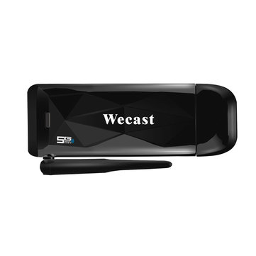 Wecast 5G WIFI Miracast Airplay DLNA Display TV Dongle