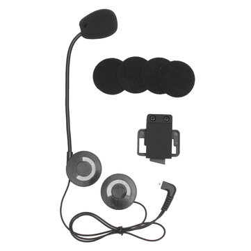 Helmet Headset Speaker For Bluetooth Intercom Motorcycle Interphone FM Radio 500