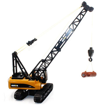 15 Channels 1:14 Alloy RC Tower Crane 1572 Engineering Car Truck Gift Toys