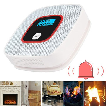 Carbon Monoxide Detectors Fast Deliver Smoke Detector Live Voice Led Lcd Display Alarm Co Carbon Monoxide Leakage Sensor Smart Human Voice Alarm Memory Function Back To Search Resultssecurity & Protection