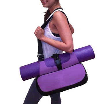 YogaМатовыйхолстСумкаМногофункциональныйрюкзак Плечо Посланник Спорт Сумки Для Женское Фитнес Duffel