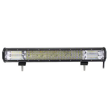 20Inch 1200W Quad Row 128 LED Work Light Bar Flood Spot Combo Lamps Bar for Offroad 4WD SUV Truck