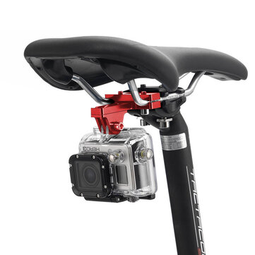 PULUZ PU181 Bicycle Racing Cycle Bike Seat Clamp Cushion Mount Holder for Action Sport Camera