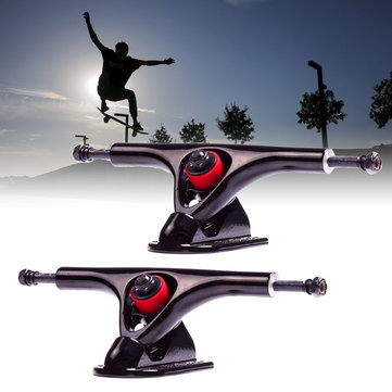 1 Pair 180mm 7'' 43 Degree Longboard Trucks Electric Skateboard Hanger Parts
