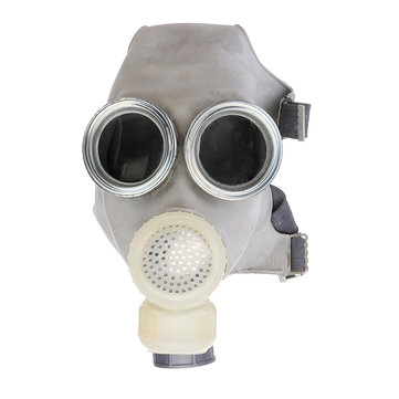 Gas Mask Military Army Emergency Escape Fire Dust Smoke Filterotective w/ Filter