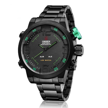 OHSEN AD1608 Casual Style Waterproof Sport Watch