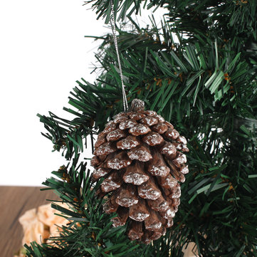 Xmas Christmas Tree Decoration Pine Cones Christmas Ornament