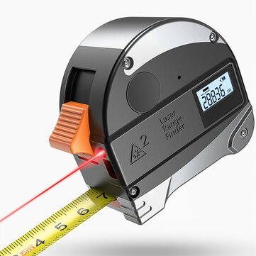 DANIU 30M Laser Rangefinder Anti-fall Steel Tape For 33% OFF